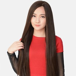 Discount long straight weave hairstyle Full Lace Wig Peruvian Hair Wig Higher 5.5 x 5.5 Silk Weaving Immediately Fills My Sedosa Database Of Cordon Silk Wigs O