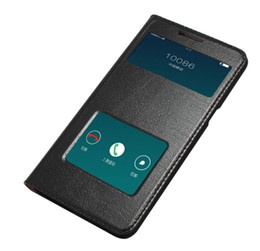 China Excellent For OPPO R9 Case Ultra-Thin Hard PC Cover Luxury Original Colorful Flip Window Genuine Leather Case For OPPO R9 supplier oppo pouches suppliers