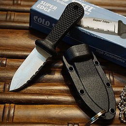 Cold Steel Survival Canada - Top quality Cold Steel Super Edge Knife - 42SS - includes Rugged Survival Secure-Ex Sheath with Original paper box package