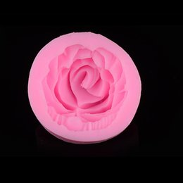$enCountryForm.capitalKeyWord Canada - 3D Rose Silicone Fondant Cake Sugarcraft Bakeware Mold For cake chocolate Dessert Moulds Flower shaped Gumpaste