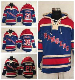... Men Ice Hockey New York Rangers Hoody Blue Pullover 36 Mats Zuccarello  Hooded Mans 20 Chris ... 9b1d4c975