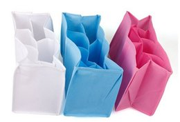 Changing Bags New Baby Organizer Bag Portable Diaper Nappy Bottle Changing Divider Storage Mummy Bag Bladder Nonwoven Separators on Sale