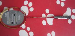 Raquette de badminton N90II 100% fibre de carbone 2 pièces / lot en Solde