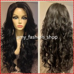 Cheap deep wave virgin half wigs online shopping - peruvian remy hair curly glueless full lacewig front lace human hair wigs natural color cheap wigs density