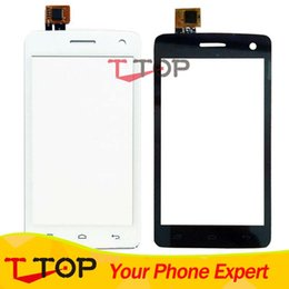 Wholesale Black White Touch Panel For Fly IQ4490i Era Nano IQ i Touch Screen Digitizer Front Outer Glass Repair Parts PC