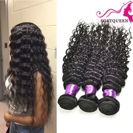 queen hair products peruvian bundle 2019 - 7A Malaysian Deep Wave Virgin Hair 4 Bundles Brazilian Peruvian Indian Mongolian Deep Wave Malaysian Hair Deep Curly Hai