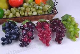 $enCountryForm.capitalKeyWord Canada - Artificial Fruit Grapes Plastic Fake Decorative Fruit Bunches Lifelike Home Wedding Party Garden Decor MYY