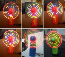 Promotional toys mini online shopping - Mini fan LED ShanZi fan manufacturers supply Light the fan Promotional gifts advertising gifts