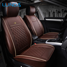 Front Rear Luxury Leather Car Seat Cover For Ford Mondeo Focus Fiesta Edge Explorer Taurus S Max Auto Accessories Styling