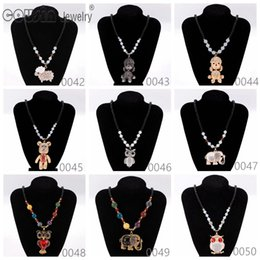 black multi dress Canada - New Arrivals Bohemia Styles Pendent necklace charms for Woman Multi Styles Fit Bohemia vintage Dress Fine Necklaces pendants Jewelry XL42-50