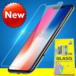 best iphone screen protectors NZ - For Iphone 8 Plus iPhone X 7 6 6s Plus Good Quality Best Price Tempered Glass Screen Protector 2.5D 9H Hardness Film