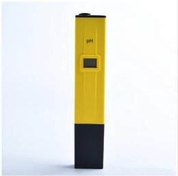 ph pens wholesale Australia - Business pen pH meter ph value tester acidometer pen Analyzers PH Meters Measurement Analysis Instruments 671