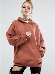 $enCountryForm.capitalKeyWord Canada - Winter news fashion women hoodies pullover lady blouses in solid color with cap long sleeve T-shirt with rope and pocket OL-8735