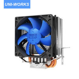 Discount amd cpu socket am2 - Wholesale- PC Cooler S810 Computer Mini CPU Cooler 80mm Cooling Fan Heatsink For Socket LGA775 LGA1150 LGA1155 LGA1156 A