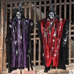 halloween horror props haunted house decoration electric supplies vocal luminous voice control skeleton ghosts small spirits wholesale