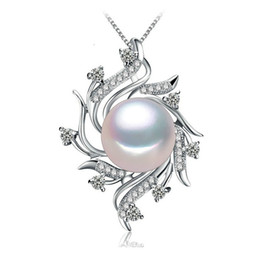 China NEW Bohemian Necklace Pearl cage necklaces & pendants Pearl brand fashion retro necklace women Natural pearl cage necklace FS51W cheap steel pearl suppliers