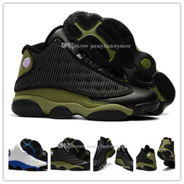Discount shoes for cats - Cheap New 13 OG Black Cat Men Basketball Shoes for men designer shoes 13s Black Cat Athletics Sneakers High Quality size