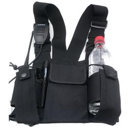 Toptan satış 3in1 multi-fonksiyonel Askeri İki yönlü telsiz / walkie talkie Çanta Süper Güçlü Naylon Torba