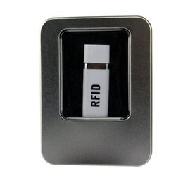 Rfid Print Canada - W6093 Read + Write 13.56mhz RFID USB READER Support ISO15693 ISO15693 MINI READER For i code Accpet logo Printing For android Wince System