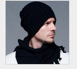 18c5dff1b1579 Beckham knitting hat hot sale Men and women fashion hat for winter Beanie  Skull Caps wholesale