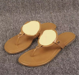sale fake countdown package online Khaki Shiny patent Genuine Leather Brand New Women Thong Sandals Summer Women Beach Sandals Famous Flip Fllops pre order sale online clearance factory outlet clearance huge surprise FaO3src