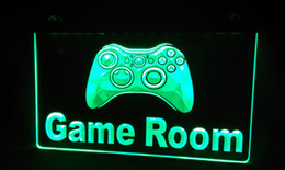 neon sign game 2019 - LS226-g Game Room Console Neon Light Sign