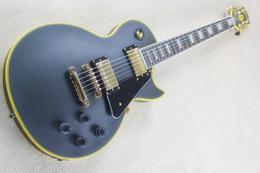 Shop oem online shopping - China guitars Custom Shop Matt black Electric Guitar OEM guitar Customizable exclusive LOGO