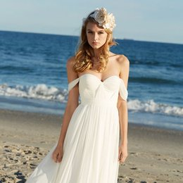 Discount Romantic Plus Size Beach Wedding Dresses Romantic