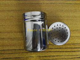 metal spice jars Australia - 240pcs lot Free Shipping Home kitchen supplies Single hole stainless steel spice jar container seasoning can storage bottle