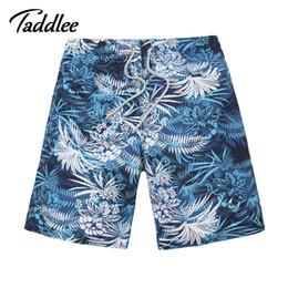 China Wholesale-Men Beach Shorts Casual Brand Mens Board Shorts Surf Shorts Bermuda Swimwear Swimsuit Swimming Boxer Shorts High Quality cheap mens floral swimwear suppliers