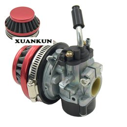 Wholesale Mini CC Small Sports Car Small Four Wheel Modified Two Red Carburetor with Air Filter Assembly
