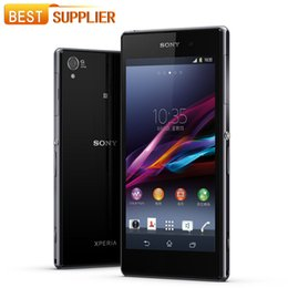"purple cellphone Australia - 2016 Hot selling Original Unlocked Sony Xperia Z L36h C6602 C6603 5.0"" Quad-Core 2G RAM 16GB ROM 13.1MP NFC GPS refurbished cellphone"