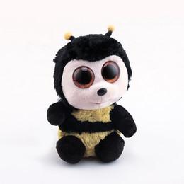8e89b9af562 Ty Beanie Boos Original Big Eyes Plush Toy Doll Child Brithday 10 - 15cm  Honeybee TY Baby For Kids Gifts