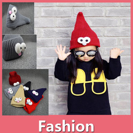 Baby Boys Girls Kids Pilot Aviator Warm Wool Cap Hat Children Winter Beanie  Hats Kids Ear Warm Caps Hats Shipping Free 161020 7d15d5011399