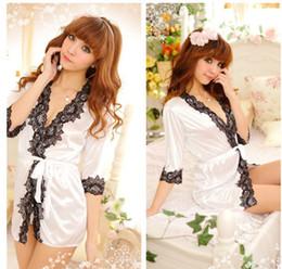 8d444a3525 Women Sexy Silk Satin Nightgown Sleeveless Sleepwear V-neck Nighty Lace  Nightwear Plus Size Night Dress Sleep Wear For Summer