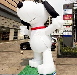 $enCountryForm.capitalKeyWord NZ - giant 4mH white dog inflatable cartoon for business used with free air blower