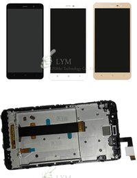 China Wholesale- Black White Gold LCD+TP+Frame for Xiaomi Redmi Note3 Note 3  MTK Helio X10 Replacement LCD Display+Touch Screen supplier mtk case suppliers
