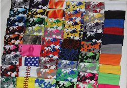 Digital camo reD white blue online shopping - digital camo arm sleeve Elite sleeves baseball Outdoor Sport Stretch compression sleeve