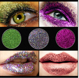 Glitter Pour Les Yeux En Gros Pas Cher-Hot New Arrival 31 Colors Highlighter Makeup Glitter Eye Shadow Palette Shimmer Eye Shadow Palettes Factory Wholesale