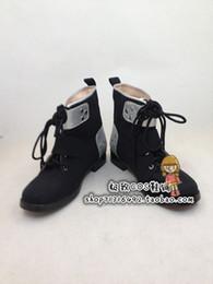 Make Sword Cosplay Canada - Wholesale-Sword Art Online Kazuto Kirigaya Cosplay Boots shoes new version #JZ0109 hand made Custom made