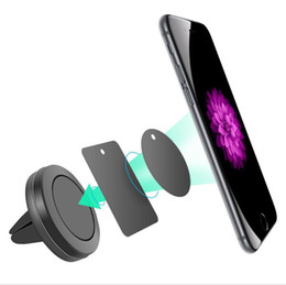 Magnet drive online shopping - Car Mount Air Vent Magnetic Universal Car Mount Phone Holder for iPhone s One Step Mounting Reinforced Magnet Easier Safer Driving