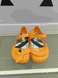 Baby Girl Cute Sandals Australia - New Mini Sandals Shoes 2016 Summer Banana Sandals Cute Boys Girls Shoes Children Baby Shoes Boy Girl Shoes Mini Sandals