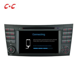 China Quad Core HD 1024*600 Android 5.1.1 Car DVD Play for Benz W211(2002-2008)CLS350 E220,Ewith GPS Navigation Radio Wifi Mirror link DVR suppliers