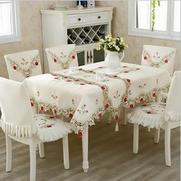 DHgate & Embroider Flower Table Covers Online Shopping | Embroider ...