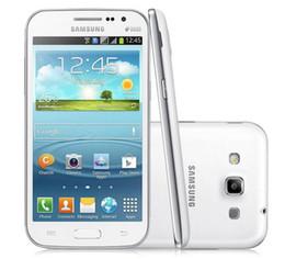 Android Mobile Phones Unlock Canada - Samsung Galaxy Win I8552 Quad Core RAM 1GB ROM 4GB Wifi 4.7 inch Android 4.1 Refurbished Unlocked Mobile Phone