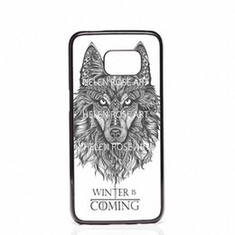 game thrones phone cases 2019 - Game Of Throne Winter is Coming Phone Covers Shells Hard Plastic Cases For Samsung Galaxy S4 S5 MINI S6 S7 edge S8 S8 Pl