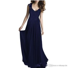 $enCountryForm.capitalKeyWord UK - 2016 Sexy V-neck Casual Lace Dress Evening Long Elegant Women Clothing Vestido De Festa Party Maxi Hollow Out Summer Wear Wedding Ball Gown