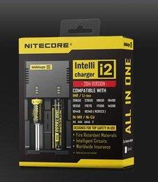Ladegerät Nitecore I2 Digitales Ladegerät Universal Nitecore i2 Ladegerät VS Nitecore i2 D2 D4 UM10 UM20 Gute Qualität
