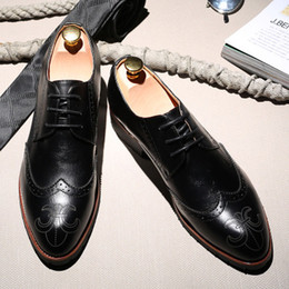 Mahogany Hair Canada - The fall of men's fashion trend of Korean sharp scalp hair stylist marriage increased Mens Casual Shoes