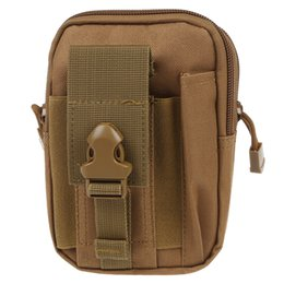 clear mobile phone cases 2019 - Wholesale- Molle Waist Bags Men's Casual Waist Pack Purse Mobile Phone Case for Phone Sand cheap clear mobile phone